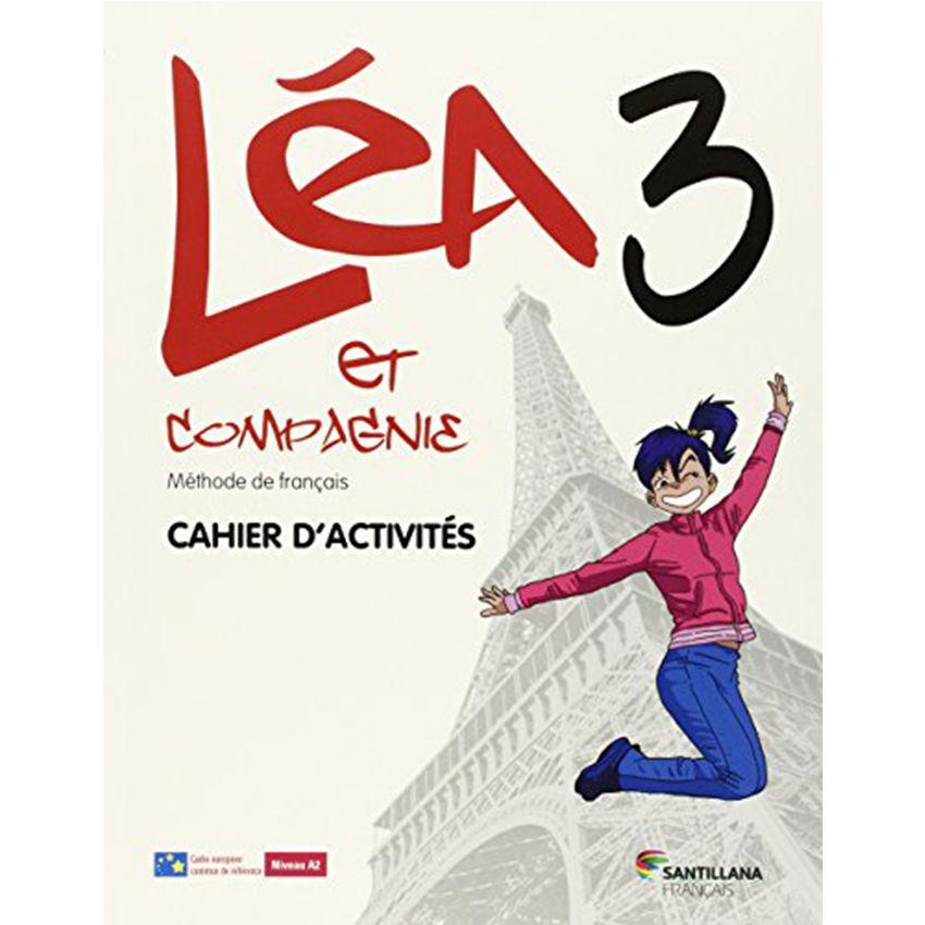 Lea Et Cie 3 Cahier + Cd Cahier