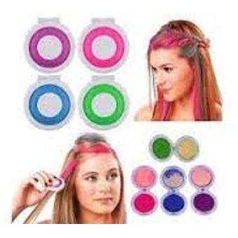 Agotado Tizas Temporales para Decoracion del cabello con Mechones de Colores bc04b9c75646