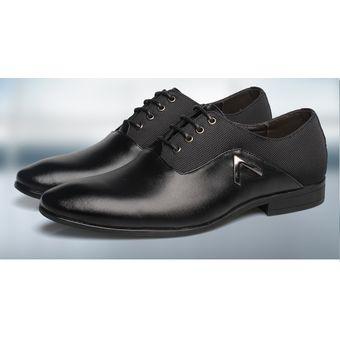 b2c299d9472e8 Compra Mocasines Zapatos Vestir Ecocuero Casual Hombre -Negro online ...