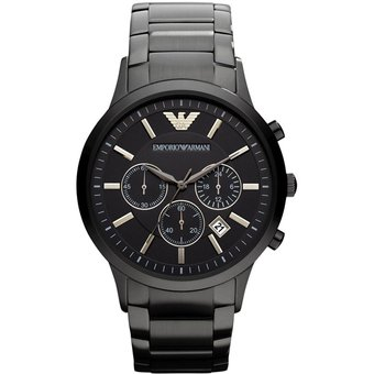 9f3c8688a72c Compra Reloj Emporio Armani Caballero AR2453 -Metal Negro online ...
