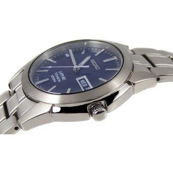 new product 5bd49 effa1 Reloj Seiko CUARZO Caballero SGG729P1 Titanio con Caratula Azul