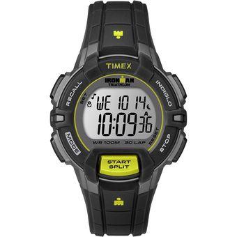 a696abf4f28e Agotado Reloj Timex Mod. T5K809 Iron Man 30 Rug Mid Dama Dama Negro Liron  Mana