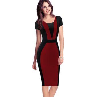 Vestido de oficina para mujer