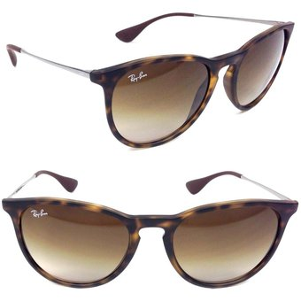 82330ad1e2 Lentes De Sol Ray Ban Erika RB4171 865/13 Brown Tortoise Marron Degrade