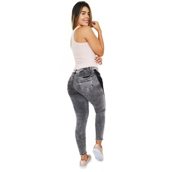 f94958c7b780f Compra Jeans Gris Mujer Pink Star Jeans Levantacola Colombianos ...