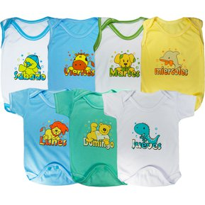 Semanario Bodies Niño Glotoncitos - Multicolor 0-3 Meses 666e5fcf342