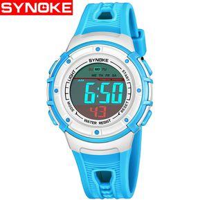 f1c38baf658f SYNOKE   Reloj Deportivo Multifuncional Para NiñOs 9518