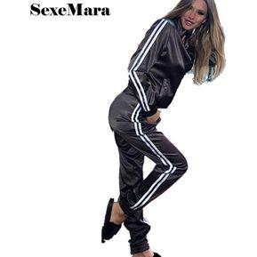 50dc2858a3 Chándal Deportivo Para Mujer Elegante Conjunto De Sudaderas Y Pantalones