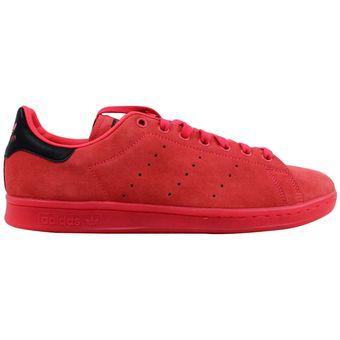 outlet store ef958 3a718 Tenis de hombre Adidas Stan Smith S80032 Rojo
