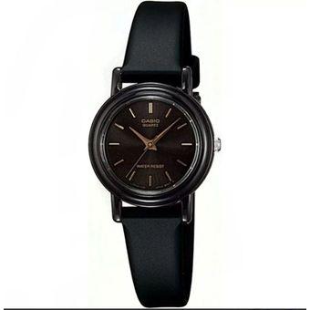 1b5fe634ca5c Compra Pareja De Relojes Casio MQ24 Y LQ139 Caucho- Negro Con Dorado ...