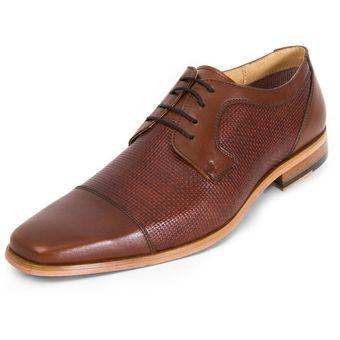 Compra Zapatos Brantano Para Caballero Vestir - Tb7064 Cognac online ... 621953b6013c