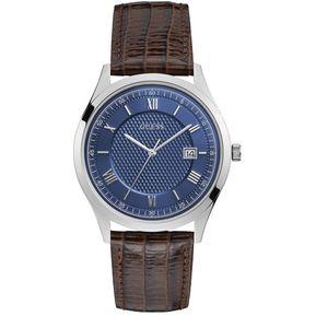 c7a2944e7 Reloj Guess ELEMENT W1182G1 - Caballero Plata/azul/cafe