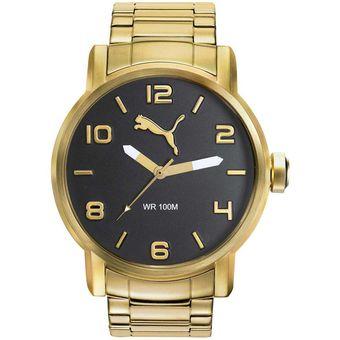 207315fc6a0b Reloj Puma PU104141009 Analógico Acero Inoxidable - Dorado