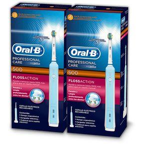 Pack 2X Cepillo eléctrico Oral B Professional Care 500 dff015c357ab