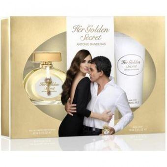 Cofre Her Golden Secret 80Ml Fem. EDT - Antonio Banderas