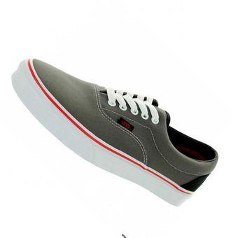 zapatillas vans mujer grises