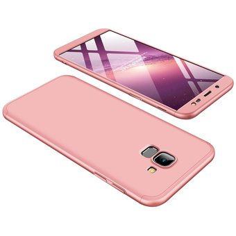d502713e799 Compra Funda De 3-en-1 360 Para Samsung Galaxy J6 2018 / J600-Rosa ...