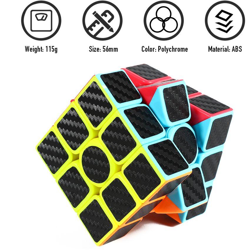Z-Cube 3x3 Speed Cube Etiqueta de fibra de carbono Smooth GE598TB0Y66CXLMX JmDgg924 JmDgg924 MoWWiE8X