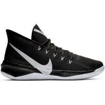 Zapatillas Basketball Hombre Nike Zoom Evidence Iii Negro con Blanco