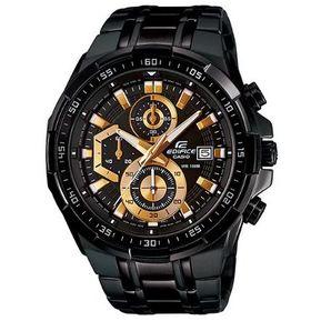 6c64995dfde5 Reloj Casio Edifice EFR-539BK-1AVDF Correa De Acero Inoxidable Para Hombre