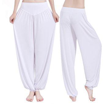 Pantalones De Yoga Modal Pantalones De Baile Mujeres Blanco Linio Chile Ge018sp00c55ilacl