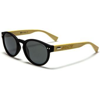 Agotado Gafas Sol BeOne Wood Madera Estilo Round Clubmaster Lente Filtro  UV400 - Negro Madera - bc1dcc4237fe