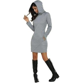 Vestido Vanni 5119.2 Sudadera Blusón Hoodie-Gris f022906f136f2