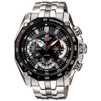 0595a55c4fca Compra Reloj Casio Edifice EF-550D-1AV Analógico Hombre - Plateado ...