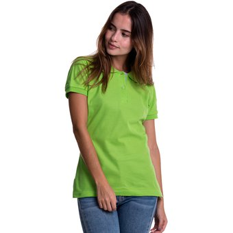 Compra Camiseta Tipo Polo HAMER Mujer 002 Verde Limon online  5c8f11d80a56c