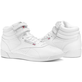 72514e26d91 Zapatillas Reebok Freestyle Hi para Mujer - Blanco