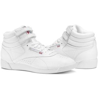 981226facf Zapatillas Reebok Freestyle Hi para Mujer - Blanco|Linio Perú ...