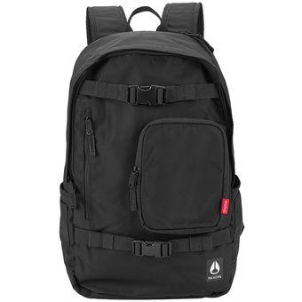 Mochila Nixon Smith Backpack All Black Nylon