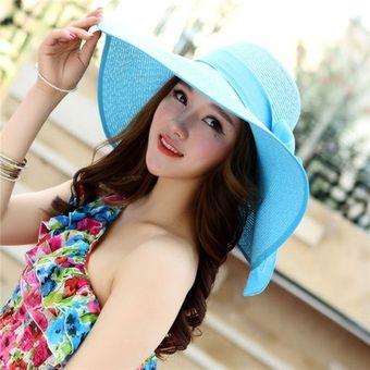 364f4c381eb6a Compra Sombrero Para Sol Mujer Verano Playa Ocio Sombreros Y Gorra ...