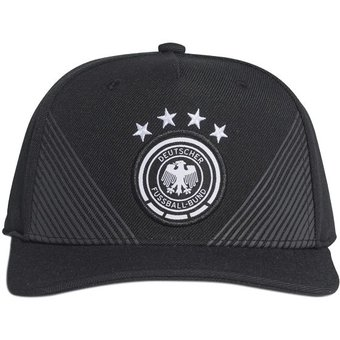 Compra Gorra Selección Alemania Local Visera Plana Negra online ... 0cb8094b306