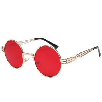 4323cea69b Compra Gafas De Sol Moda Ronda Mujer Hombre-Rojo online | Linio Panama