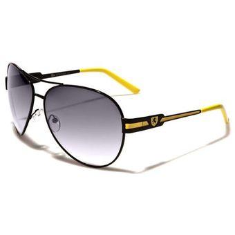 849cca00e8 Gafas De Sol Estilo Carrera Filtro Uv 400 Lentes kn3673e Amarillo