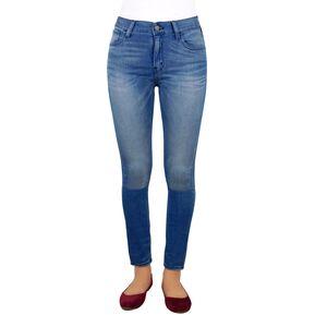 Pantalon Mezclilla Dama Breton Jeans Super Skinny Fit – Azul 2338a34ff4b3