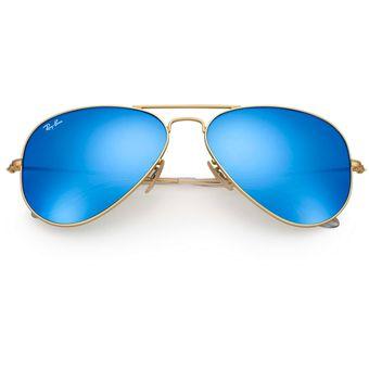 f40701e2dbf82 Agotado Gafas de Sol Ray Ban Aviator Flash Lenses RB 3025 112 17 Dorado    Azul