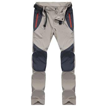 Pantalones Tacticos Impermeables De Carga Para Hombre Pantalones De Secado Rapido Para Primavera Y Verano Pantalones De Pesca Para Senderismo Y Deportes Al Aire Libre Para Hombre Jun Wish4161 Khaki Linio Peru