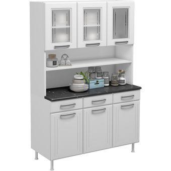 Compra mueble cocina telasul kit triple vidrio turquesa for Muebles de cocina en kit baratos