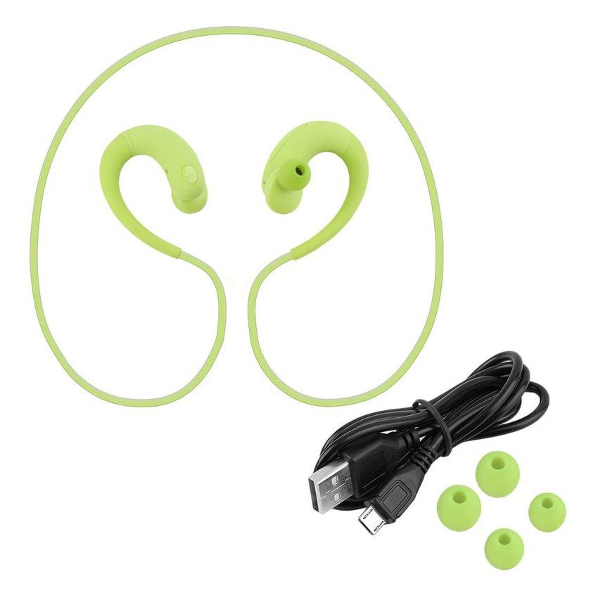 V4.1 inalámbrico correa de cuello de los deportes de Bluetooth del auricular del auricular de la música de llamada