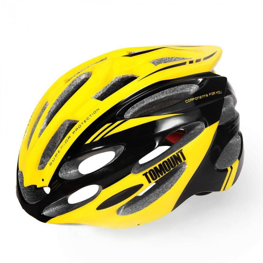 TOMOUNT Ciclismo Casco Protector MTB BMX Bicicleta Ajustable