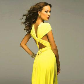 75d26b2812 Vestido de fiesta sin espalda con vendaje mujer color sólido Vestido largo