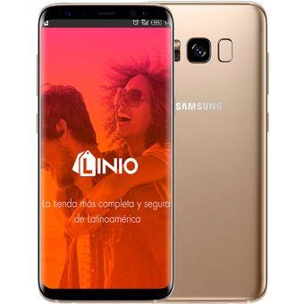 7a130d8f45 Compra Celular Samsung Galaxy S8 64 GB Dorado online | Linio Colombia