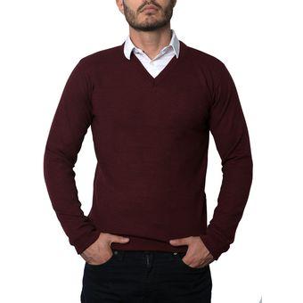 Compra Saco Polo 201 Totas Para Hombre Vinotinto online  40f0ed1d14d