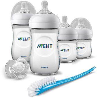 Avent Set Teteros Naturals Anti Gases Bebe New Born-Unisex