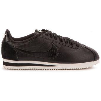 separation shoes d8710 f3614 Agotado Zapatos Deportivos Hombre Nike Classic Cortez Leather-Negro