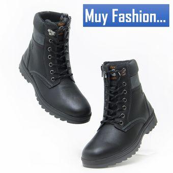 Compra Bota Flexi 50702 Caballero Comodos - Negro online  45adbc07498