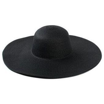 5a1dfd6981be7 Sombrero Grande Para El Sol Gorra Playa  Visera Sombrero Al Aire Libre Para  Mujeres E