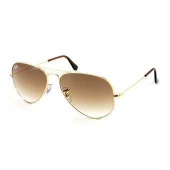 3204f4306a Agotado Gafas De Sol Ray Ban Aviator 3025 001/51 Dorado / Café Degrade 75%